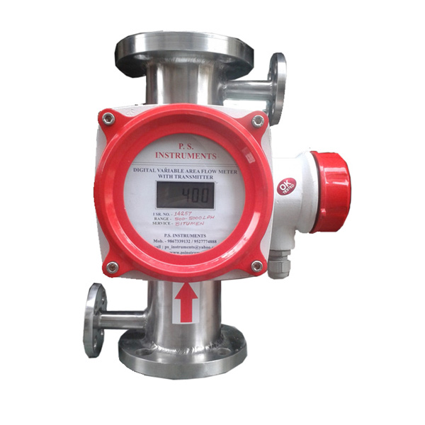Steam jacket Digital Flow Meter
